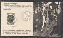 Éditions Tony Krier Luxembourg 1972 - Premiere Coulèe Europèenne A L`usine Esch / Belval - Maximum Cards