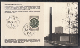 Éditions Tony Krier Luxembourg 1972 - Rond Point Schumann - Maximum Cards