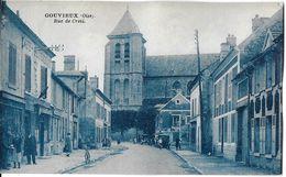 GOUVIEUX 60 OISE  RUE DE CREIL EDIT. RIANCOURT  JCT&DG - Gouvieux