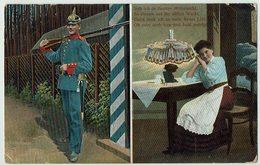 (032..769) Militär, Uniform, Liebe, Heimat, 1911 - Heimat