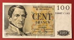 Belgique Billet De Banque - 100 Francs 12/06/1959 - [ 2] 1831-... : Regno Del Belgio