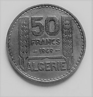 ALGERIE 50  FRANCS 1949      N °133D - Algeria