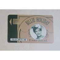 TELECARTE 50 : BILLIE HOLIDAY - Musique