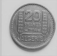 ALGERIE 20  FRANCS 1956      N °133D - Algérie