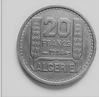 ALGERIE 20  FRANCS 1956      N °133D - Algeria