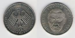 BRD  2 DM 1995 A L. Erhard Bfr - [ 7] 1949-… : RFA - Rép. Féd. D'Allemagne