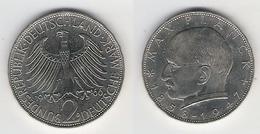 BRD  2 DM 1966 D  Planck - [ 7] 1949-… : FRG - Fed. Rep. Germany
