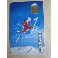 TELECARTE 120 : 16° Jeux Olympiques D' Hiver 02/92 - Télécartes
