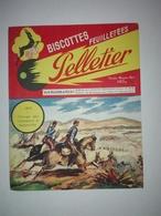 BUVARD BISCOTTES PELLETIER 1870 - Alimentaire