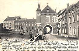 Clermont S B - L'Hôtel De Ville (animée, Edit. Alphonse Willems, 1907) - Thimister-Clermont