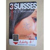 TELECARTE 50 : 3 Suisses, Le Chouchou - Télécartes