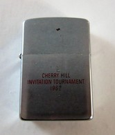 1962 Zippo Lighter Cherry Hill Invitation Tournament (Golf) - Zippo