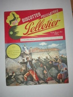 BUVARD BISCOTTES PELLETIER 1859 - Alimentaire