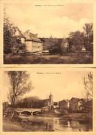Tintigny - Lot 2 Cartes (Château & Pont, Edit. Jeanty) - Tintigny