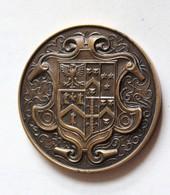 Médaille Bronze Medal Brentwood School 1960 High Jump Saut En Hauteur Sport Récompense Sportive D. M. Crewes - Autres