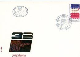 °°° F.d.c. Iugoslavia  N.233 °°° - FDC