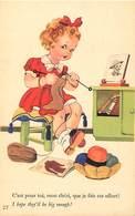 -ref-B375- Guerre 1939-45 - Le Tricot Du Combattant - Portrait Du Soldat - Humoristiques -  Illustrateurs - - Weltkrieg 1939-45