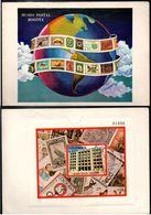 COLOMBIA- KOLUMBIEN - 1977. FD CARD  / TPD. S/S.  PHILATELIC MUSEUM IN BOGOTA CITY - Colombia