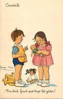 -ref-B373- Illustrateurs - Illustrateur Jacques Mos - Enfants - Poupees - Teddy Bear - Ours En Peluche - Jeux Et Jouets - Illustrateurs & Photographes