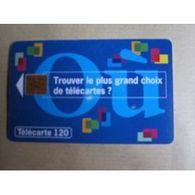 TELECARTE 120 :  Où Trouvez Le Plus Grand Choix De Télécartes ? - Télécartes