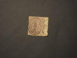 N.S.W. (AUSTRALIA) - SERVIZIO - 1862/7 REGINA 10 P. - TIMBRATO/USED - 1850-1906 New South Wales