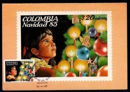 COLOMBIA- KOLUMBIEN - 1985. MAXICARD / TMAX. CHRISTMAS - Colombia