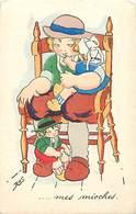 -ref-B369- Finistere - Illustrateur Ros - Mes Mioches - Enfant Et Poupees - Costumes Bretons - Illustratreurs - - France