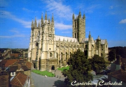 Canterbury - Cathedral - Formato Grande Viaggiata – E 9 - Cartoline