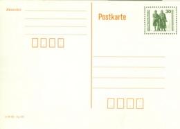 DDR Ganzsache P107I ** - Postkarten - Ungebraucht