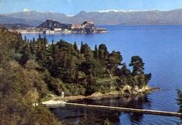 Corfu - Una Veduta Parziale - Formato Grande Viaggiata Mancante Di Affrancatura – E 9 - Cartoline