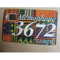 TELECARTE 50 :  Mémophone 3672 - Altri
