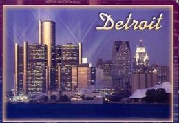 Detroit - Formato Grande Viaggiata – E 9 - Cartoline