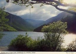 Evening View Of Upper Lake - Glendalough Co - Wicklow - Irland - Formato Grande Viaggiata – E 9 - Cartoline