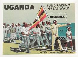 Uganda 1983 Summer Olympics S/S - Uganda (1962-...)