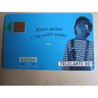 TELECARTE 50 :   Sanofi - Télécartes