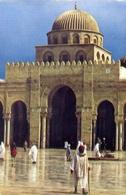 Kairouan - La Grande Mosquee - Formato Grande Viaggiata – E 9 - Cartoline