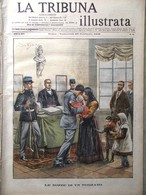 La Tribuna Illustrata 25 Febbraio 1906 Sant'Agata Catania Vesuvio Orsini Marzano - Bücher, Zeitschriften, Comics