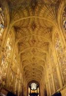 King's College Chapel Cambridge The Great Vault - Formato Grande Viaggiata Mancante Di Affrancatura – E 9 - Cartoline