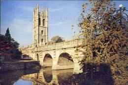 Magdalen Tower And Bridge - Oxford - Formato Grande Viaggiata – E 9 - Cartoline