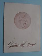 GALAS Ch. BARET Théatre Antoine ( Les Mains Sales ) Jean Paul Sartre > Saison 1948-1949 Paris ( Voir Photo ) ! - Programma's