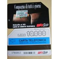 Télécarte Italienne : Compagne Di Tutti I Giorni, S.I.P.; 10.000 Lire - Italie