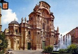 Murcia - Cathedral Facade - Formato Grande Non Viaggiata – E 9 - Cartoline