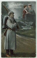 (032..777) Militär, Uniform, Liebe, Heimat, 1915 - Heimat