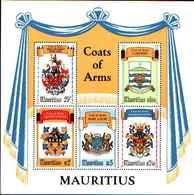 74831) Mauritius 1981 STEMMI MILITARI IN BF-MNH** - St.Vincent (1979-...)