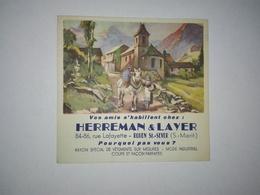 BUVARD VETEMENTS SUR MESURE ROUEN HERREMAN ET LAYER - Textile & Vestimentaire