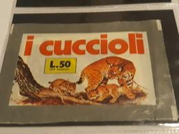 I Cuccioli..lince..bustina Chiusa Con Figurine - Stickers