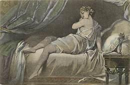 -ref-B360- Arts - Tableaux - Tableau - Femme - Femmes - Carte Bon Etat - - Peintures & Tableaux