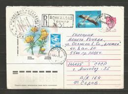 ASHKABAD - TURKMENISTAN  - USSR  - Traveled Cover To BULGARIA    - D 3201 - Turkménistan