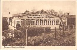 Ostseebad BAABE Auf Rügen Restaurant Wilhelm Peters TOP-Erhaltung Ungelaufen Belebt - Rügen