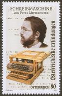2017 Austria Österreich Typewriter- Peter Mitterhofer MNH ** - Other